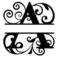A - Monogram