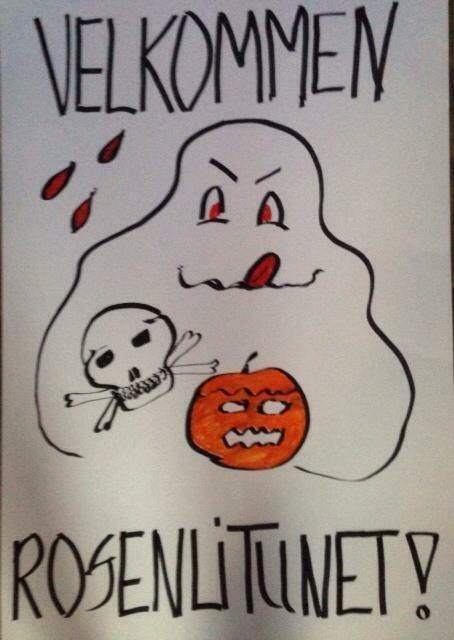 Halloween på Rosenlitunet