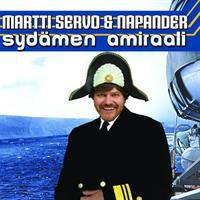 MARTTI SERVO & NAPANDER: SYDÄMEN AMIRAALI-KÄYTETTY CD
