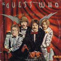 GUESS WHO: POWER IN THE MUSIC-KÄYTETTY LP