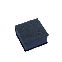 Vevboks Mini Tuvor Iris Blå 120x120mm