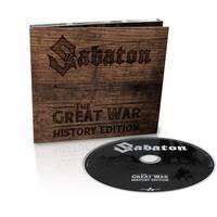SABATON: THE GREAT WAR-HISTORY EDITION DIGIPACK CD
