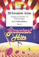 20 GREATEST ARIAS for TRUMPET/CORNET & PIANO/ORGAN