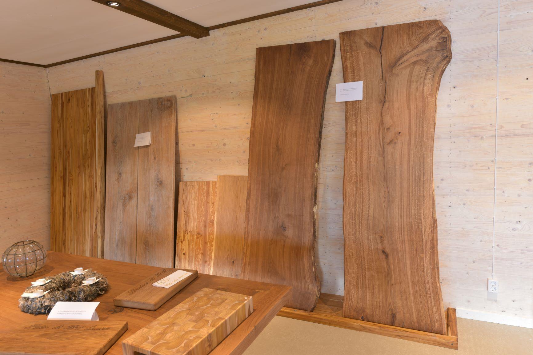 Ekskivor i utställning