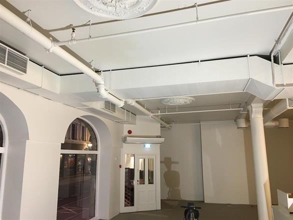 Vi har sparklet og malt opp lokaler i Oslo sentrum for Entreprenør