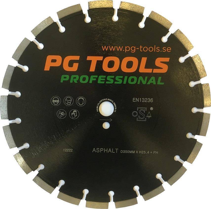 Kapskiva PGT 400mm asfalt