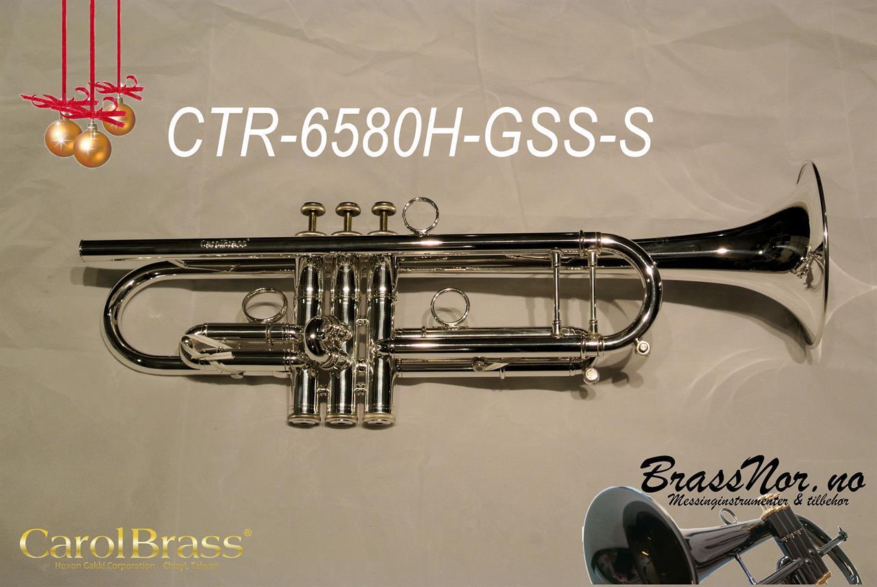 Bb trompet CTR-6580H-GSS-S