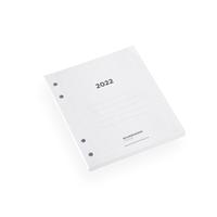 Kalender 2022 - innhold til perm A6+