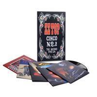 ZZ TOP: CINCO NO:2-THE NEXT FIVE LP'S 5LP