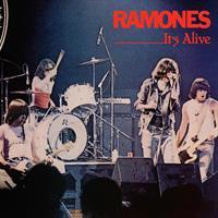 RAMONES: IT'S ALIVE-TRANSLUCENT RED & BLUE 2LP