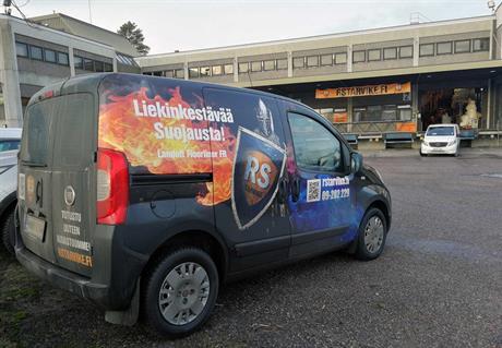 RS-Tarvikkeen noutomyymälä ja toimisto sijaitsevat kehä kolmosen tuntumassa Vantaan Koivuhaassa.