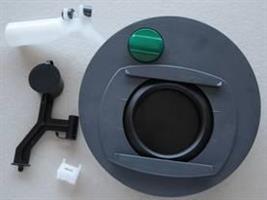 Jätesäiliön mekamismi vasen C400/C500