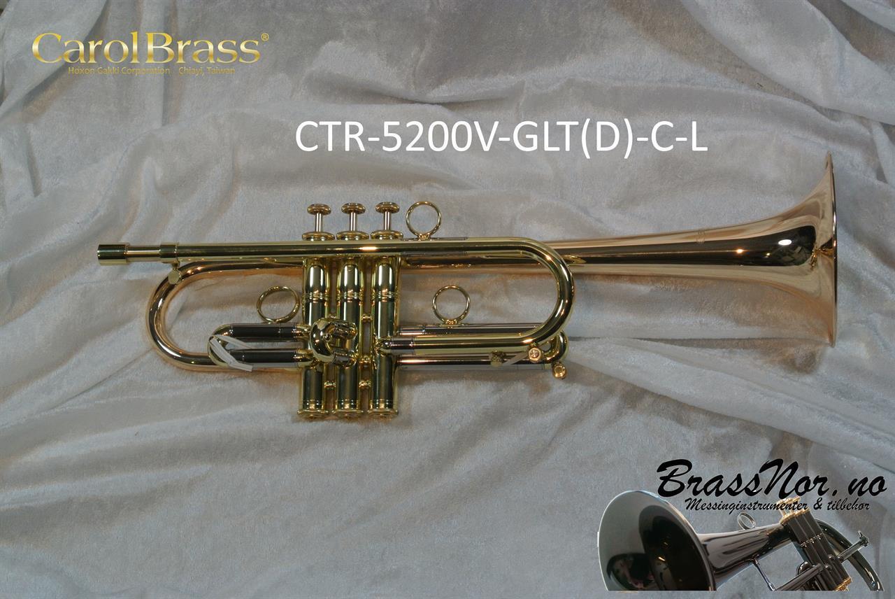 C Trompet BrassNor Versatile Custom GLT(D) sølv