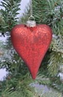 Julekule hjerte