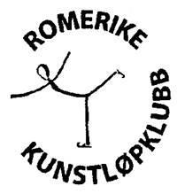 Logo Romerike kunstløp klubb