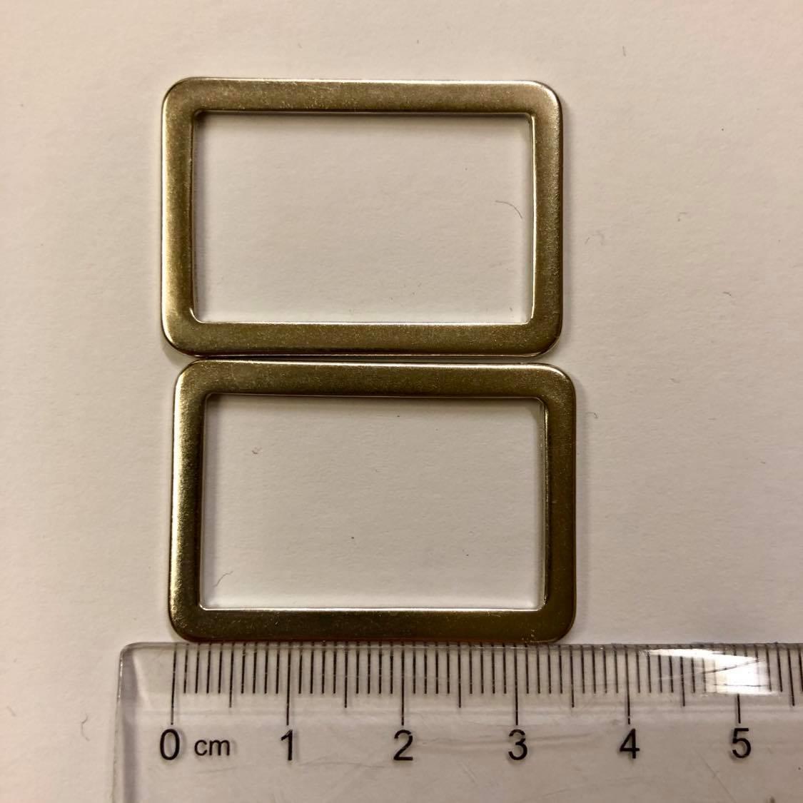 2 x veskespenner, sølv, 3,5 cm