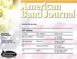 AMERICAN BAND JOURNAL No 317 - 321