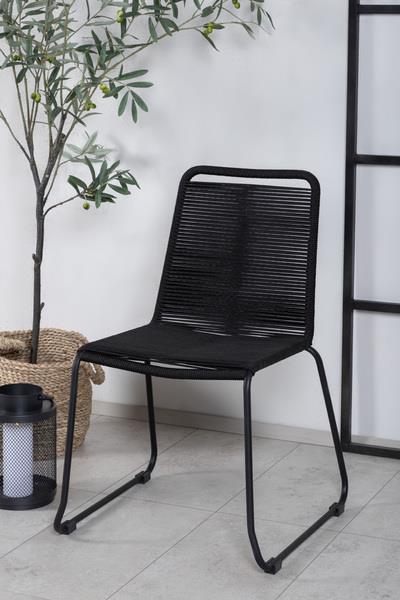 Lindos stol svart