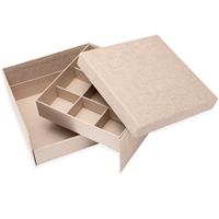 Smykkeboks Medium Record Sand
