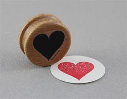 Stempel Large Hjerte