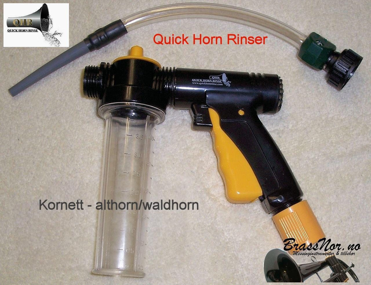 Quick Horn Rinser for Small Bore