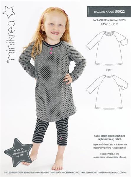 Minikrea: 50022 Raglan Dress