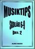 MUSIKTIPS 6-9  DEL 2