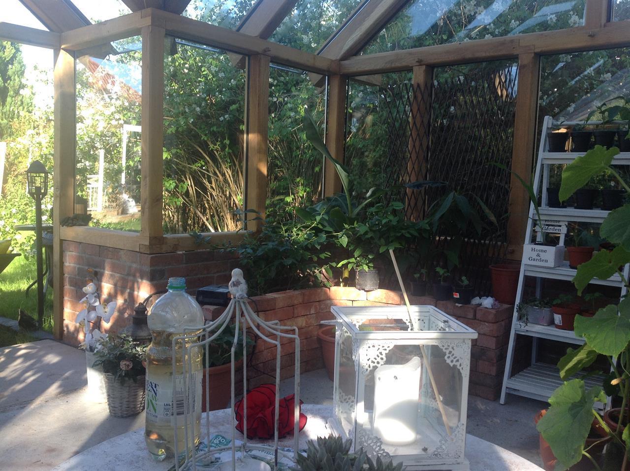Växthus/orangeri ca.18m2