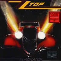 ZZ TOP: ELIMINATOR-RED LP