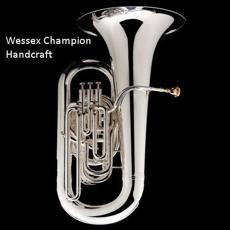 Wessex Eb-tuba Champion sølv Handcraft