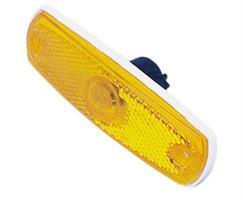 Äärivalo keltainen 126x38