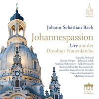 BACH J.S.: JOHANNESPASSION-LIVE AUS DER DRESDNER FRAUENKIRCHE 2CD (FG)