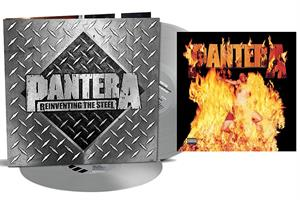PANTERA: REINVENTING THE STEEL-20TH ANNIVERSARY SILVER 2LP