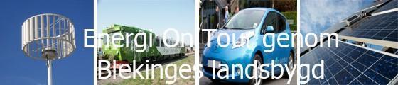 Energi on tour genom Blekinges landsbygd