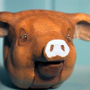 Nøtteknekkar, gris
