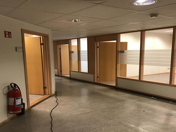 Vi er i Oslo Sentrum og setter i stand 5 etasjer med kontorlokaler - Desember 2016