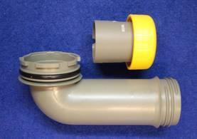 Jätesäiliön tyhjennysputki C2,C3,C4/C200 Thetford