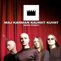 MAJ KARMAN KAUNIIT KUVAT: MUSTA PARAATI-KÄYTETTY CD