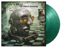 GOV'T MULE: LIFE BEFORE INSANITY-LIMITED EDITION GREEN 2LP