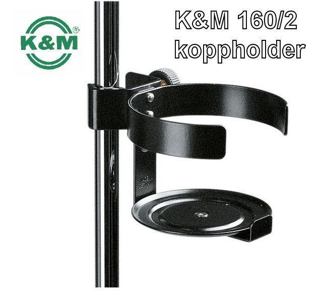 K&M koppholder 160/2 for notestativ