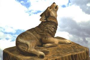 Liggjande ulv