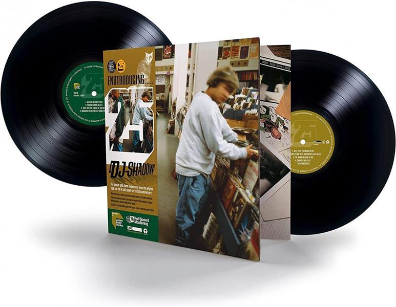 DJ SHADOW: ENTRODUCING-25TH ANNIVERSARY ENDTROSPECTIVE EDITION 2LP