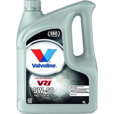 VALVOLINE VR1 RACING 5W-50 MOOTTORIÖLJY 4L