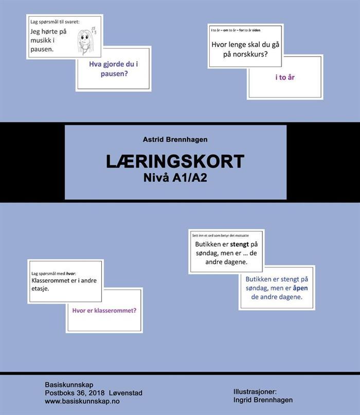Læringskort - nytt produkt