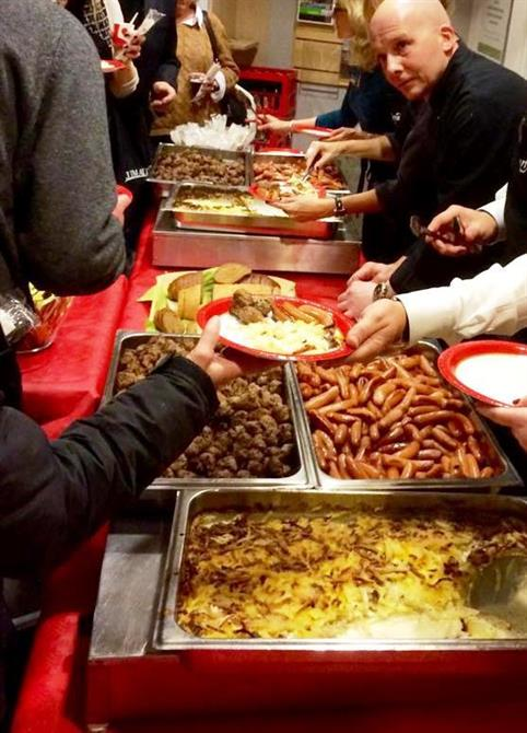 Julmat till kundevent ca 300 pers