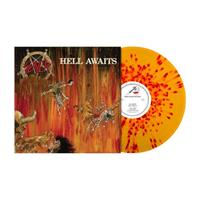 SLAYER: HELL AWAITS-RED/ORANGE SPLATTER LP