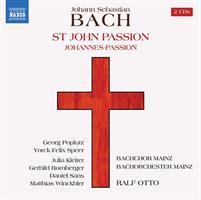 BACJ J.S.: ST JOHN PASSION/JOHANNES PASSION 2CD (FG)