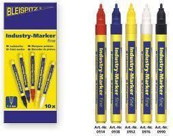 Industri Marker Vit- 4mm