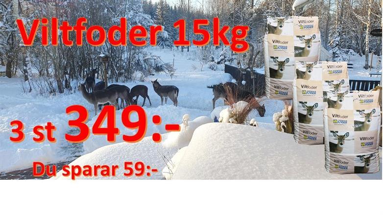 Viltfoder 3st 349:-