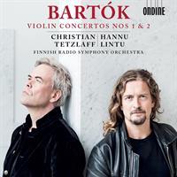 BARTOK/TETZLAFF/LINTU: VIOLIN CONCERTOS 1 & 2 (FG)